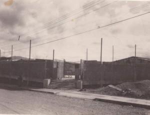 Proceso de Construcción del Templo en el terreno actual